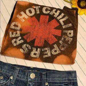 Red Hot Chili Peppers Upcycled shirt xl